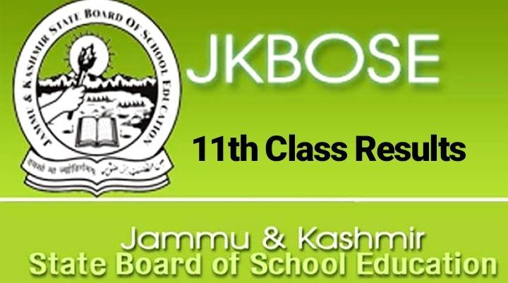 JKBOSE 11th result 2019